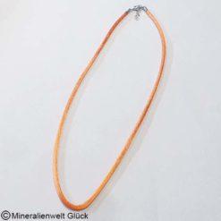 Seidenband orange, Edelsteine, Heilsteine, Mineralien